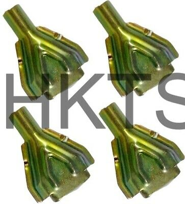 4 X Knott Half Shells, Brake Cable Trumpet, Shroud, Back Plate Cover, Genuine,  • 9.99£