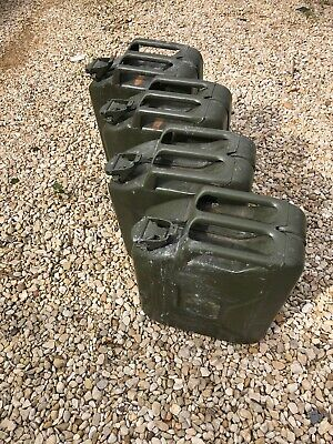 Steel Jerry Cans • 50£