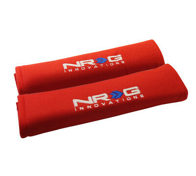 NRG Seat Belt Pads 2.7  X 11  - Red • 18£