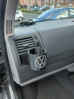 VW Transporter Cup Holder, T5 Cup Holder, Coin Slots - 2 FOR £25! • 15£