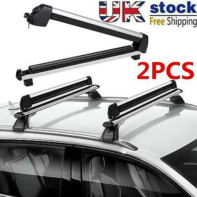 30  Ski Roof Rack Snowboard Universal Carriers Car Roof For 4 Snowboards Rack UK • 50.02£