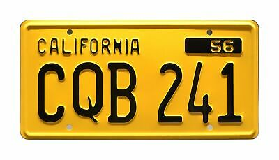 Celebrity Machines Christine | CQB 241 | Metal Stamped License Plate • 30.74£