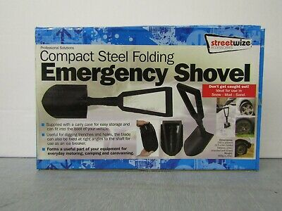 Streetwise Foldable Emergency Shovel - Snow, Sand, Mud, Travel Spade SWWR12 • 7.99£