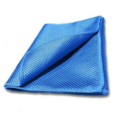 Glass Cloth Cleaner Fish Scale Microfibre Microfiber Mirrors Vehicle Detailing • 3.10£