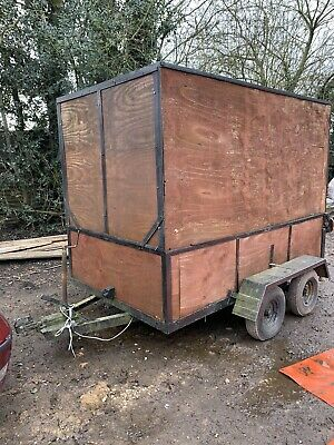 Box Trailer 8FT 6 By 5FT Re-Listed • 205£