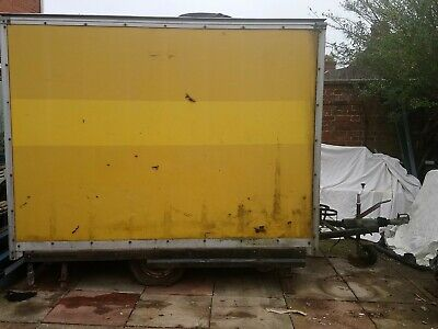 Box Trailer Could Be Converted To Food Trailer Catering Mobile Workshop Shed • 500£