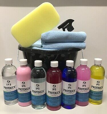 Complete Car Wash Cleaning Valeting Kit For Interior+exterior Polish Wax Sponge • 24.85£