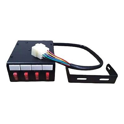 Switch Box 12v 24v Lightbars Beacons Flashing LED Strobes Lights Recovery Truck  • 25£
