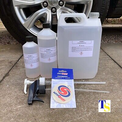 TS Red 7 1L 1 Litre + FREE Autosmart Fresh (car Wheel Cleaner Fallout Grime Rust • 14.70£