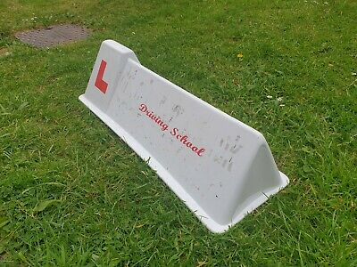 Driving Insturactor Roof Sign  • 45£