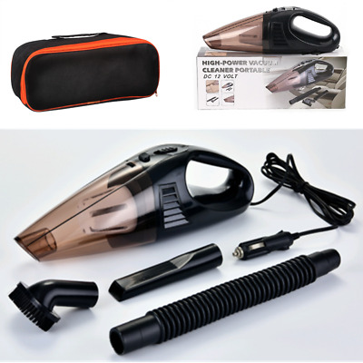 12V Car Vacuum Cleaner Portable 120W Auto Bagless Handheld Wet & Dry Dust Buster • 10.34£