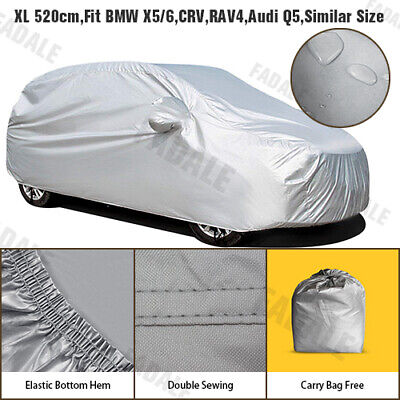 Waterproof Car Cover SUV 4x4 MPV Off-road Sport Utility Vehicle Protection WCSUV • 15.99£