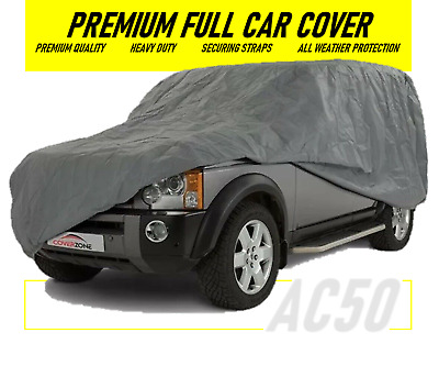 LAND ROVER DISCOVERY - Luxury Heavy Duty Premium Outdoor Waterproof Car Cover  • 38.95£