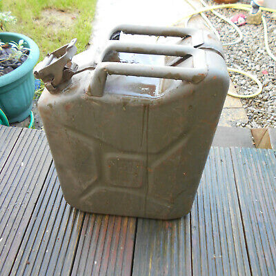 Jerry Can Steel 5 Gallons Armed Forces X 2 Used Good Condition  • 30£