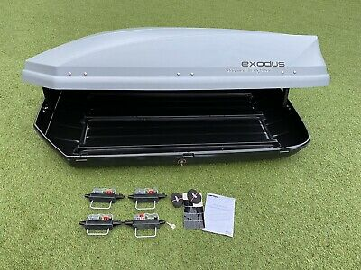 Halfords Exodus 470ltr Roof Box Made By Thule • 129.95£