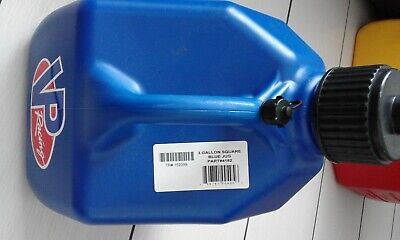 VP Racing  3 GALLON  Square Quick Fuel Container / Jug / Churn - Blue • 28£
