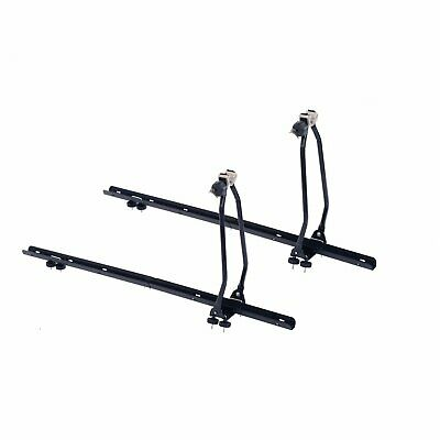 NEW! 2x Universal Upright Lockable Roof Mounted Bike Bicycle Rack Bar Carriers • 29.99£