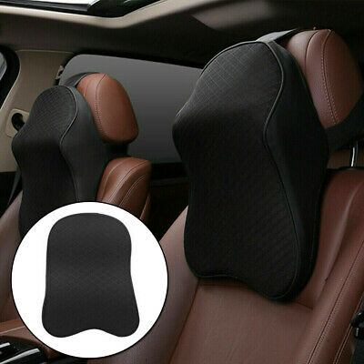 Cushion Car Headrest Head Support Accessory Replacement Universal Durable • 14.05£