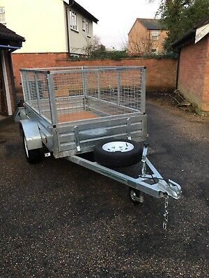 Paxton Galvanised Cage Trailer - New  • 995£