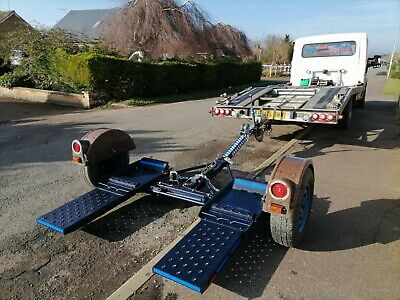 American Karkaddy Tow It 2  Tow Dolly Adjustable Ball 50mm Hydraulic Brakes • 1,795£