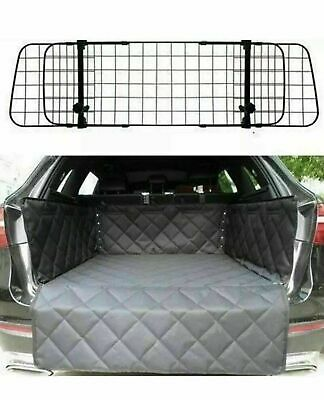 Deluxe Mesh Dog Guard + Quilted Boot Liner Mat Protector For MERCEDES ML CLASS • 41.99£