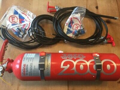 Lifeline Fire Extinguisher-for Race/track Car Brand New Still In Box Since 2003 • 50£
