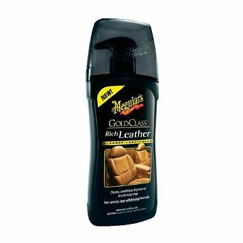 Meguiars  Gold Class Rich Leather Cleaner & Conditioner  400ml  - G17914 • 12.22£