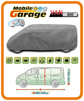 Heavy Duty Breathable VAN Cover For FORD TRANSIT CUSTOM TOURNEO SWB ( 4972mm) • 99.99£