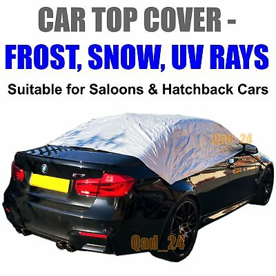 Car Top Cover Small -Medium Waterproof Resistant Ice Frost Protection Windscreen • 12.95£