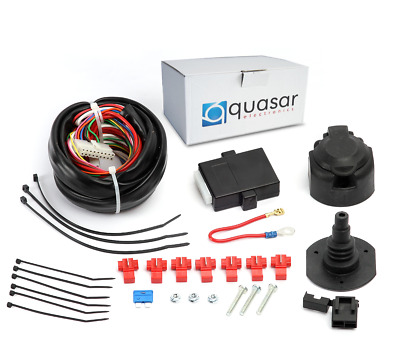 For Ford Transit/Tourneo Custom 2012 Onwards Univ. Wiring Kit+Bypass Relay 7p • 50£