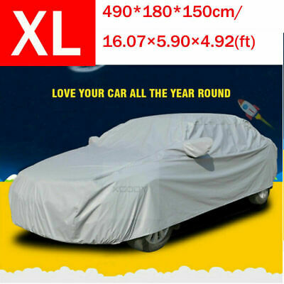 Waterproof Car Cover Covers For SUV Protector UV Resistant Snow Dust Outdoor L • 18.99£