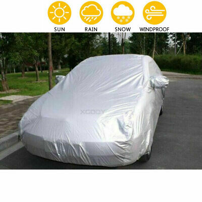 ESSGOO Extra Large XL Waterproof Full Car Cover Breathable UV Protection Outdoor • 17.99£