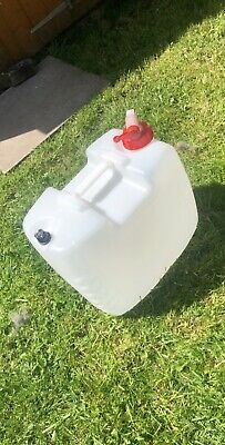 20L Vented Jerry Can With Valve Tap • 10.99£