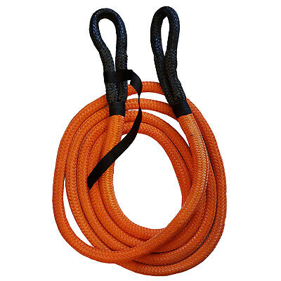 NYLON KINETIC RECOVERY TOW ROPE 8600kgs - 19mm X 6 Metre Offroad 4 X 4 Strap • 39.99£