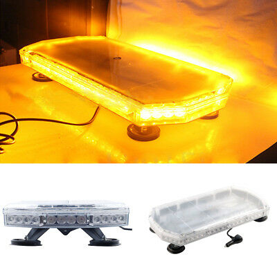 UK Recovery Light Bar 600mm 12/24v Flashing Beacon Truck Light Strobes Amber LED • 56.99£