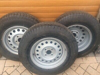Trailer Wheel And Tyre • 50£
