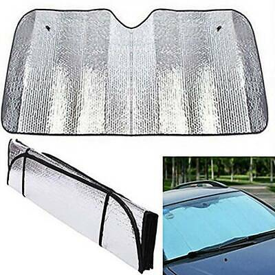 Lager Car Windscreen Sun Shade Sunshade Heat Reflective Visor Front UV Shield UK • 6.09£