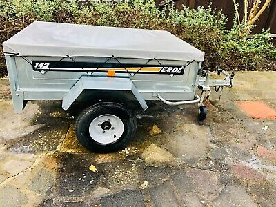 Erde 142 Trailer With Cover • 350£