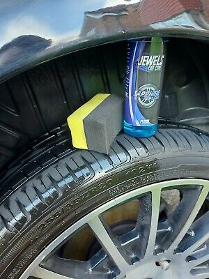 Jewels Sapphire - Thick Tyre Gel Shine Tyre Armor No Sling, Long Lasting.  • 9.99£