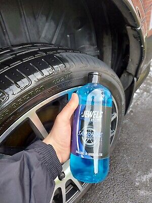 Jewels Car Care Sapphire - Thick Tyre Gel. No Sling, Long Lasting - 500ml • 11.99£