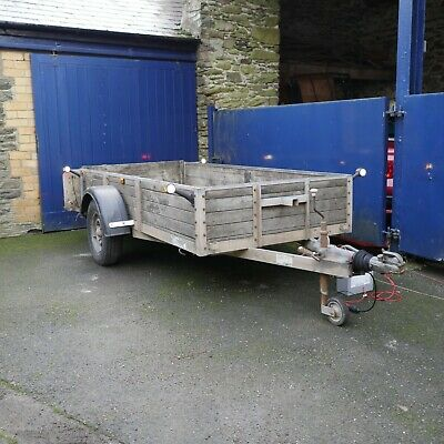 Bateson 8x4 Braked Trailer With All New LED Lighting • 845£