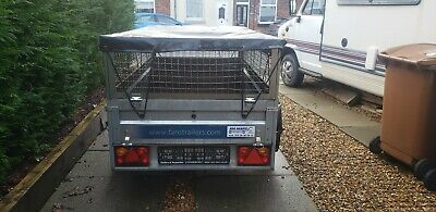 6ft X 4ft Caged Trailer • 500£