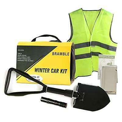 - 4 Piece Small Winter Car Kit - Contains Essentials For Emergencies • 18.99£
