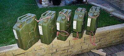 Jerry Can 20l Green Metal • 7.50£