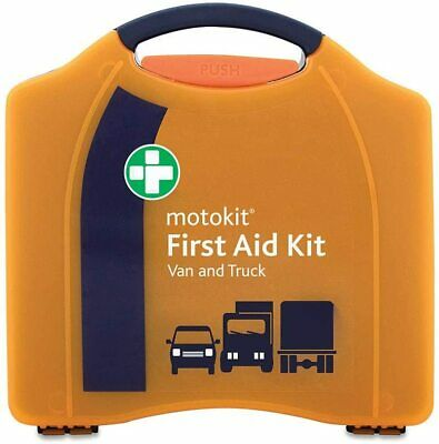 First Aid Kit Van Truck Lorry Motorkit With Wall Bracket Premium • 14.99£