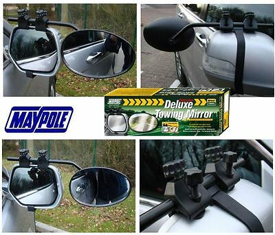 New Maypole 8327 Universal Convex Glass Deluxe Car Caravan Towing Mirror X1 • 12.89£