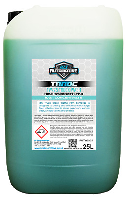 Truck Wash 100:1 Traffic Film Remover - Non Caustic / High Power TFR 25L • 27.98£