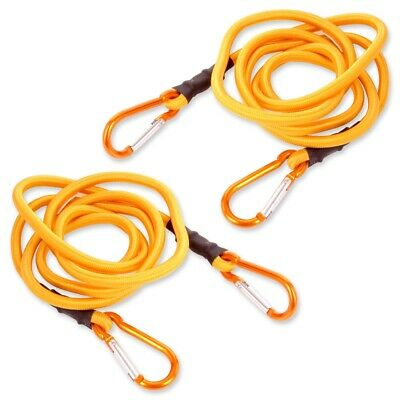 2x EXTRA LONG BUNGEE CORDS 72  Heavy Duty Shock Cable Elastic Stretch Tie Downs • 8.13£