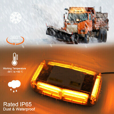 12V LED Recovery Light Bar Car Amber Emergency Flashing Strobe Beacon Truck Lamp • 13.99£