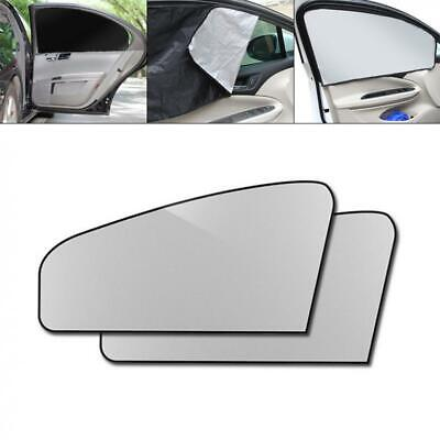2x Universal Car Side Rear Window Sun Shade Blind Cover Screen Kid Child Protect • 4.87£